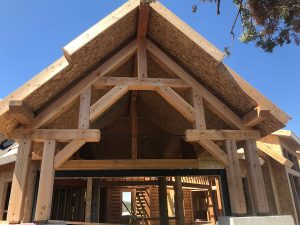 hunting cabin timber frame