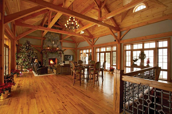 oregon timber frame homes